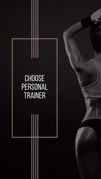 Personal Trainer Offer with Athlete Woman