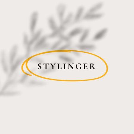 Fashion Ad with Branch Shadow Logo – шаблон для дизайну