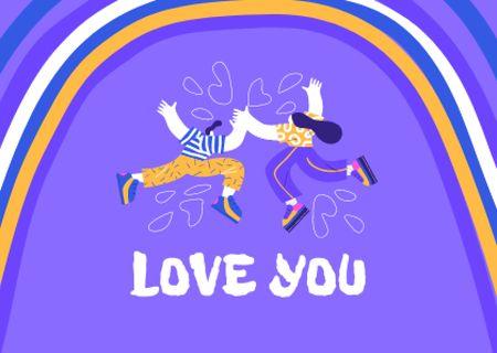 love Card Modelo de Design