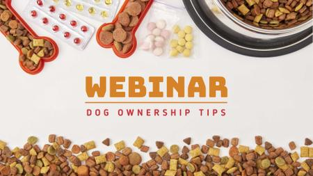 Designvorlage Pet Food and Supplements Offer für FB event cover