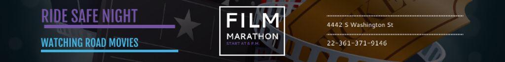 Movie Night Invitation Cinema Attributes — Crear un diseño