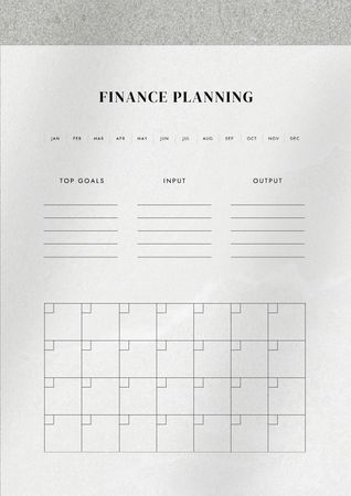 Ontwerpsjabloon van Schedule Planner van Design template by Crello