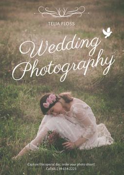 Wedding photography advertisement