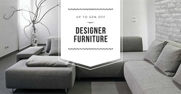 Furniture sale with Sofa in grey