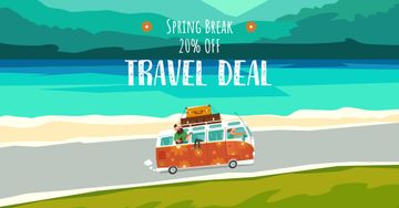 Spring Break Travel Offer with Bus