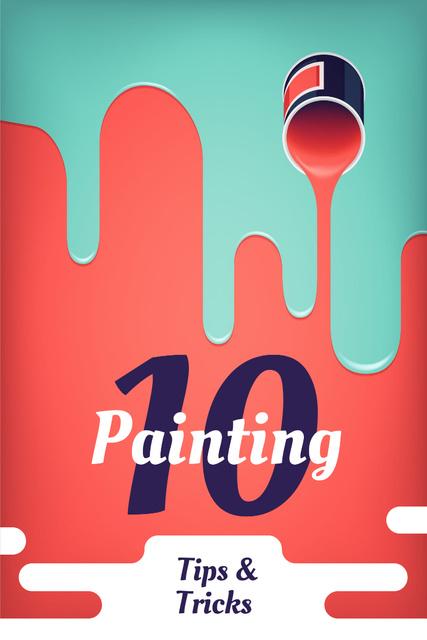 Painting tips and tricks Pinterest Tasarım Şablonu