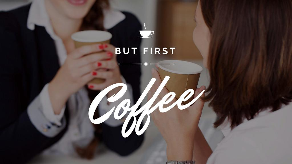 Plantilla de diseño de Coffee house Offer Youtube
