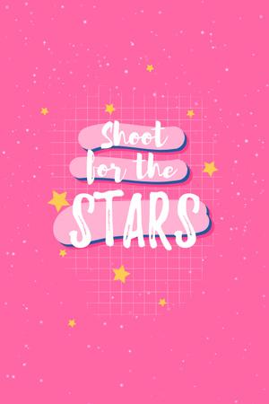 stars Pinterest – шаблон для дизайну
