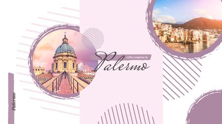 Palermo city view Youtube Modelo de Design