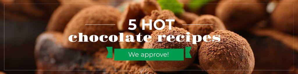 Hot chocolate recipes — Crear un diseño