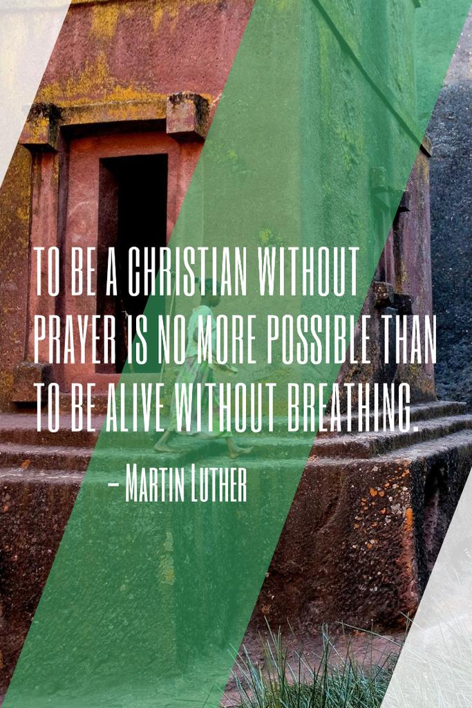 Religion citation about Christian faith — Создать дизайн