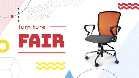 Plantilla de diseño de Furniture Offer Office Chair FB event cover