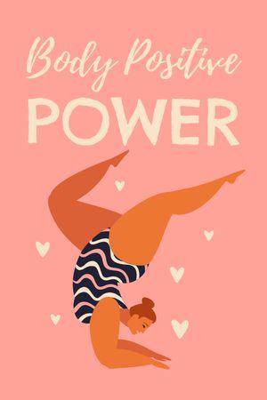Body Positive Power Inspiration Tumblr Modelo de Design