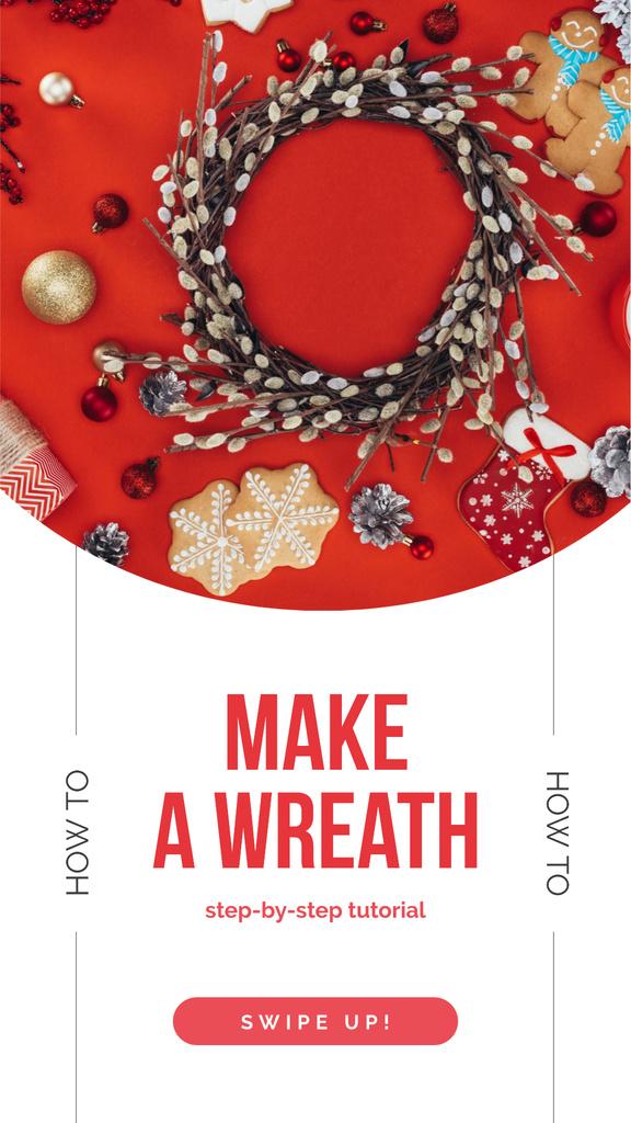 Shiny Christmas wreath - Bir Tasarım Oluşturun