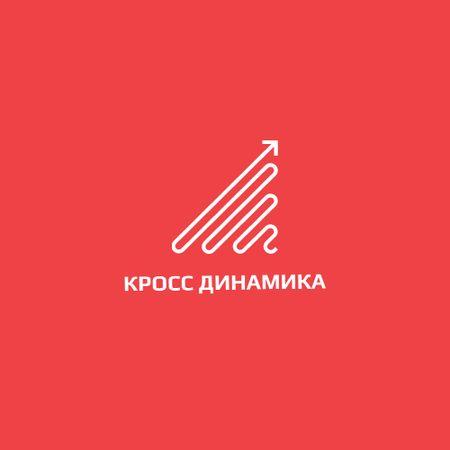 Business Company with Simple Arrow Icon Logo – шаблон для дизайна