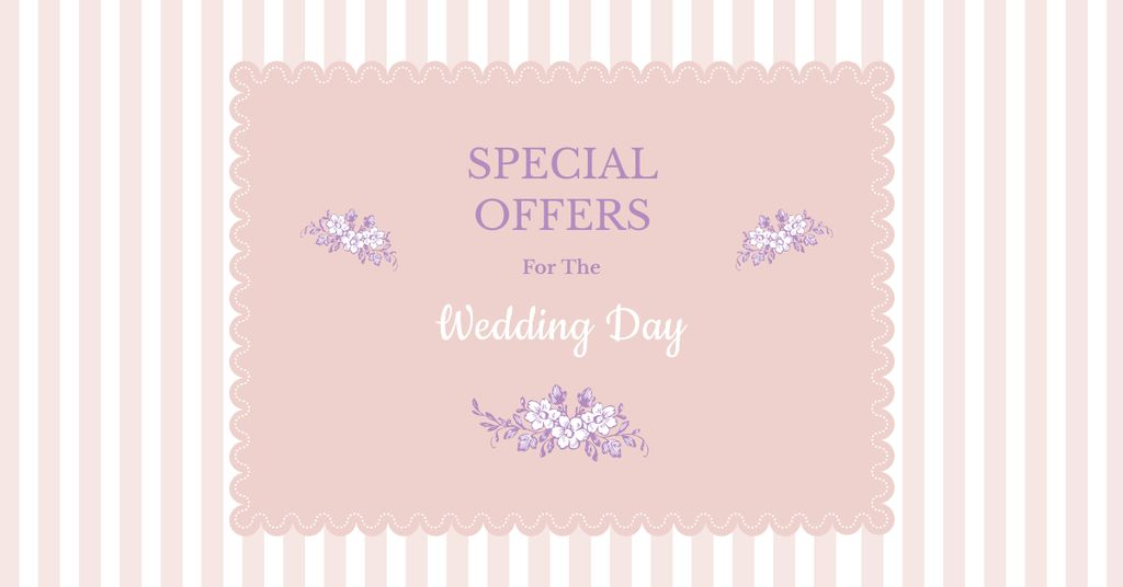 Special Wedding Day Offers — Create a Design