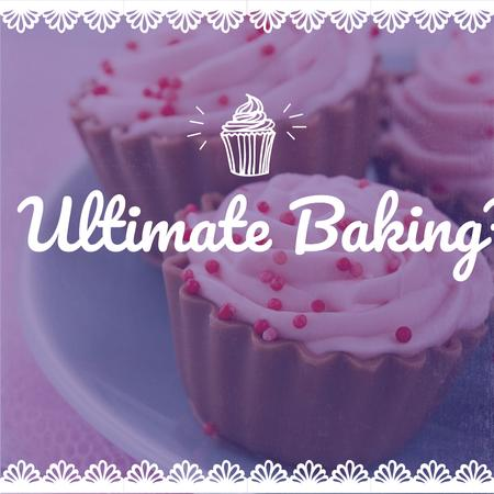 Ontwerpsjabloon van Instagram van Ultimate baking hacks with Sweet cake