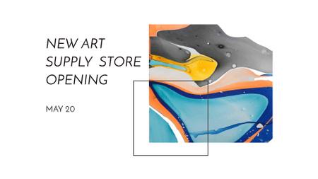 Template di design Design template by Crello FB event cover