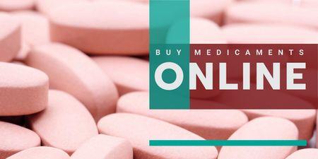 Template di design Web drugstore Offer Twitter