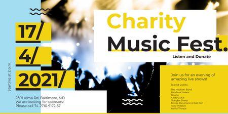 Szablon projektu Charity Music Fest Image