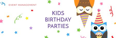 Template di design Birthday party in South Ozone park Email header