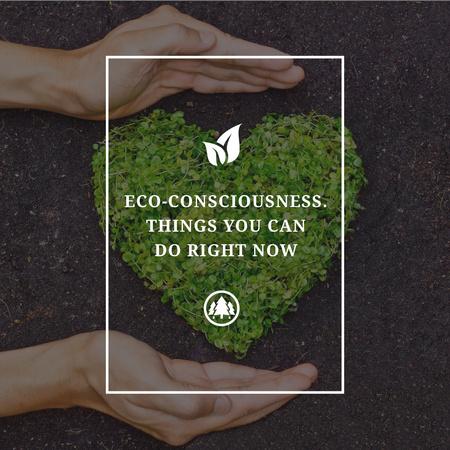 Eco-consciousness Concept Instagram Tasarım Şablonu