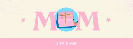 Gift Shop Offer on Mother's Day Facebook coverデザインテンプレート