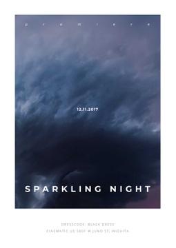 Sparkling night event Announcement