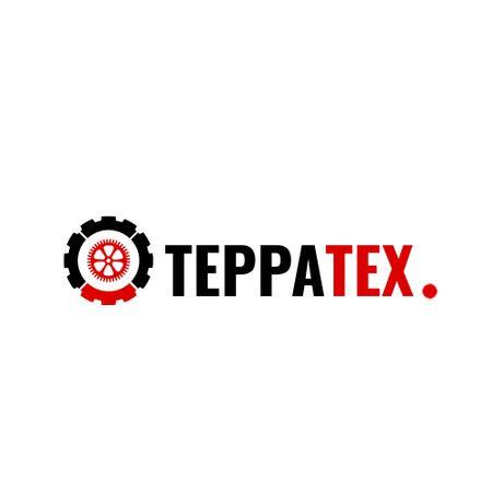 Tech Industry with Cogwheel Icon Logo – шаблон для дизайна