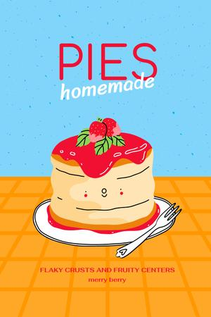 Delicious Homemade Pies Offer Pinterestデザインテンプレート