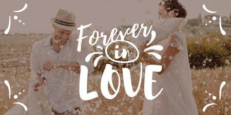 Plantilla de diseño de Happy Loving Couple on Valentine's Day Image