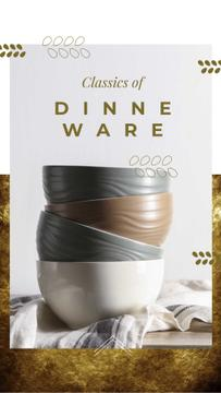 Dinnerware Offer with Ceramic Bowls