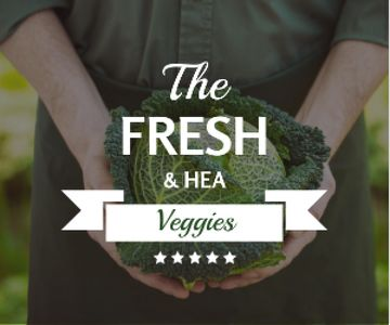Healthy Food Farmer Holding Green Cabbage