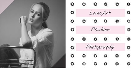 Fashion photography banner Image Tasarım Şablonu