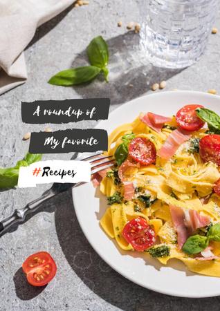 Delicious fresh Salad Poster Modelo de Design