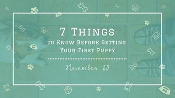 Tips for Dog owner with cute Puppy
