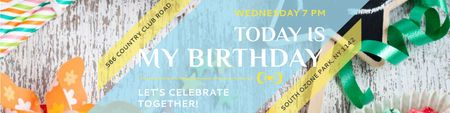 Birthday party in South Ozone park Twitter Design Template