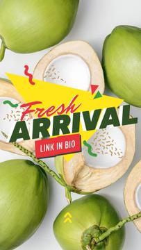 Fresh green coconuts Sale