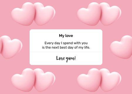 Ontwerpsjabloon van Card van love