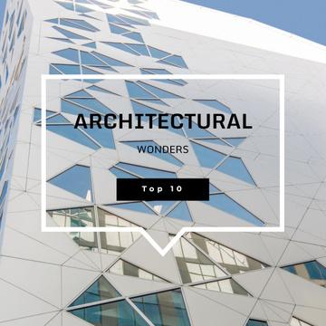 Futuristic Concrete Structure Walls