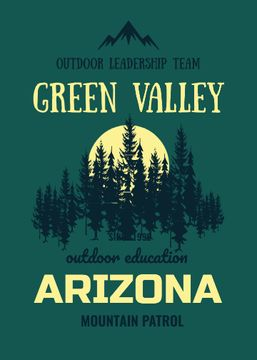 Outdoor education program with Green Forest