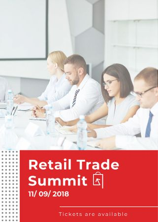 Template di design Business Colleagues at Retail summit Invitation