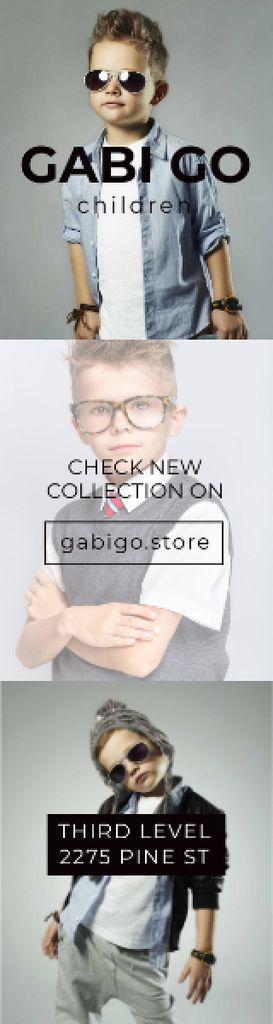 Gabi Go children clothing store — Crea un design