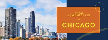 Apartments Offer with Chicago city view