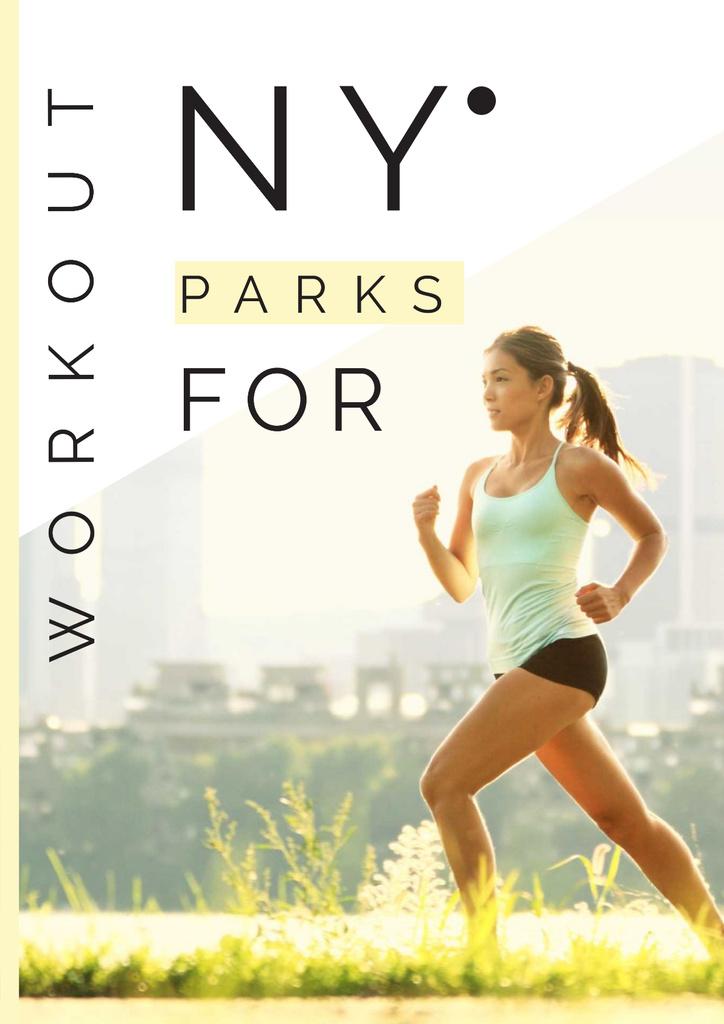 Workout in New York parks — ein Design erstellen