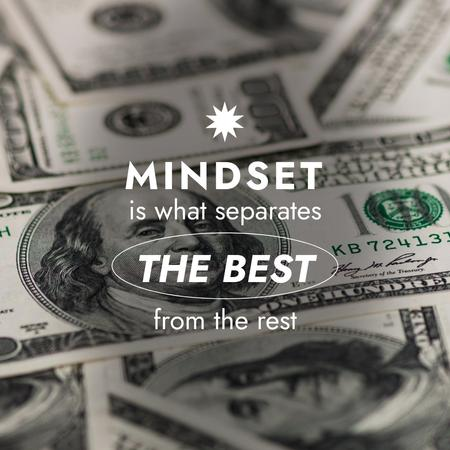 Template di design Successful Finance mindset Instagram