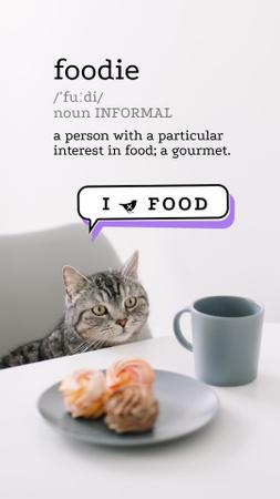 food Instagram Video Story – шаблон для дизайна
