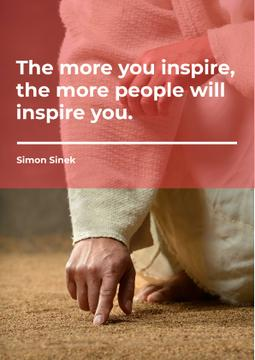 Citation about inspirational people
