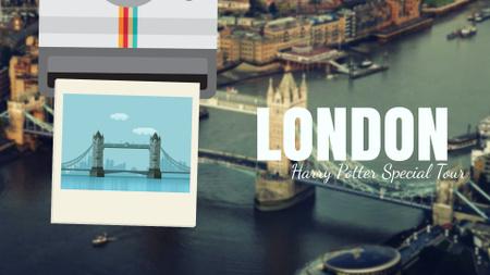 Tour Invitation with London Famous Travelling Spot Full Hd Video Full HD video Modelo de Design