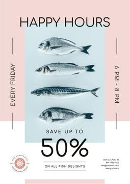 Happy Hours Offer on Fresh Fish